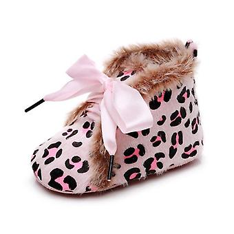 Winter Baby & Schuhe, warme Anti-Rutsch-Cartoon-Druck-Schuh