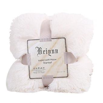 Soft  Warm Fluffy Shaggy Bed Sofa Safety Bedding Comfortable Blanket