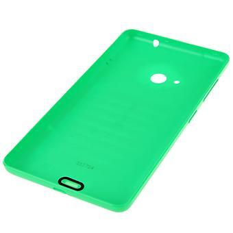 Kirkas pinta Yksivärinen Muovinen Pariston takakansi Microsoft Lumia 535:lle (vihreä)