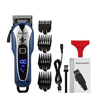 Usb Rechargeable, Electric Beard And Hair Trimmer With Lcd Display With 4 Limit