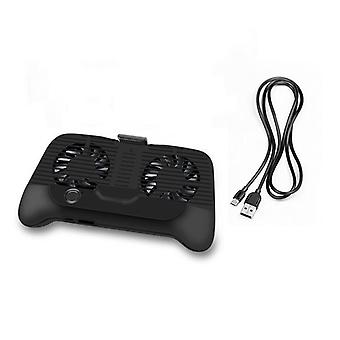 Mobile Phone Cooler Cooling Fan Gamepad Holder Stand Power Bank Radiator Mute