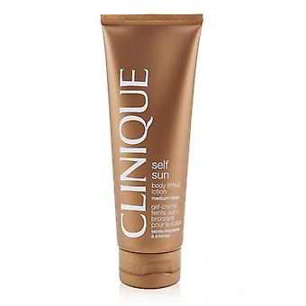 Clinique Self Sonne Körper getönte Lotion - mittlere / Tiefe 125 ml / 4.2 oz