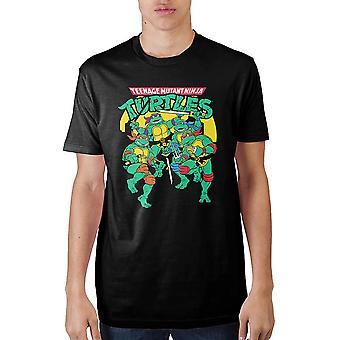 Classic teenage mutant ninja turtles t-shirt