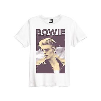 Amplified David Bowie Photograph Men's T-Shirt