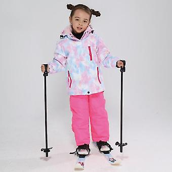 Kids Windproof, Waterproof Warm Unisex Ski Suit