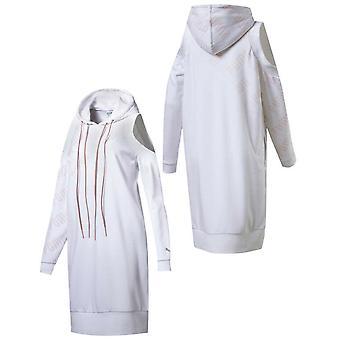 Puma En Pointe Kadın Elbise Kazak Soğuk Omuz Beyaz 575089 02 A59C