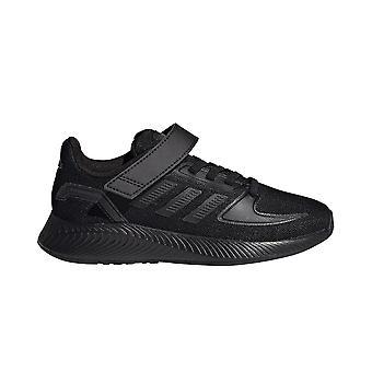 adidas Run Falcon 2.0 Junior Kids Running Trainer Shoe Black