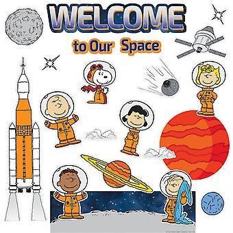 Peanuts Nasa Welcome Mini Bulletin Board Set