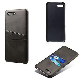 BlackBerry Motion Blackin nahkakansi korttipaikalla