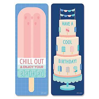 Segnalibri di buon compleanno calmi e freddi 30 / confezione