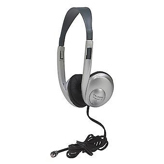 Multimedia Stereo Headphone, Silver
