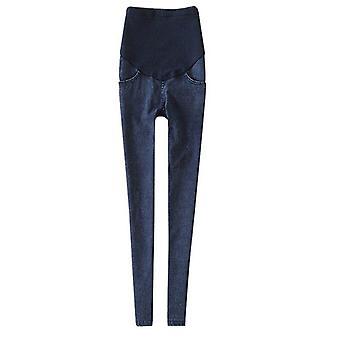 Leggings Mutterschaft Jeans Kleidung für schwangere Frauen, elastische dünne Bleistift Füße