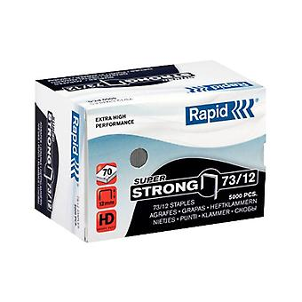 Rapid Staple 73/12 5M G Super Strong - Pack of 5000