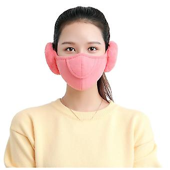 Autumn Winter Warm Plush Face Mask
