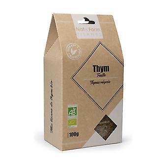 Herbal Tea Organic Flower Thyme Herbal Tea 100 g