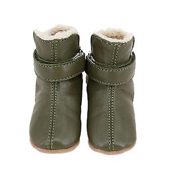 SKEANIE Pre-walker Baby & Toddler SNUG Boots in Khaki