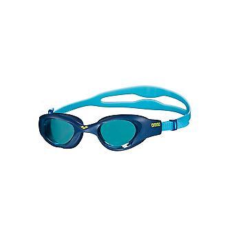 Arena en Junior svømming beskyttelsesbriller - blå farget linse - lyseblå