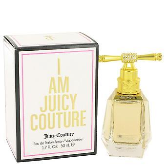 I Am Juicy Couture Eau De Parfum Spray By Juicy Couture 1.7 oz Eau De Parfum Spray