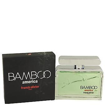 Bamboo America Eau De Toilette Spray By Franck Olivier 2.5 oz Eau De Toilette Spray