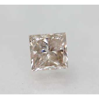 Sertifioitu 0,52 karat K VS2 Princess Enhanced Natural Loose Diamond 4x3.88mm 2VG