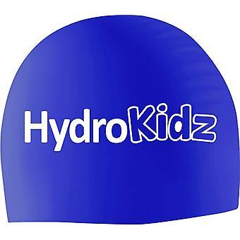 HydroKidz Children's Silicone Swim Caps -Royal Blue