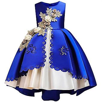 Embroidery Silk Princess Dress