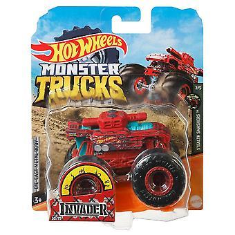 Hot wheels monster trucks 1:64 invader