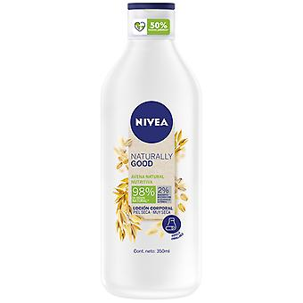 Nivea Loción corporal de avena Naturally Good 350 ml