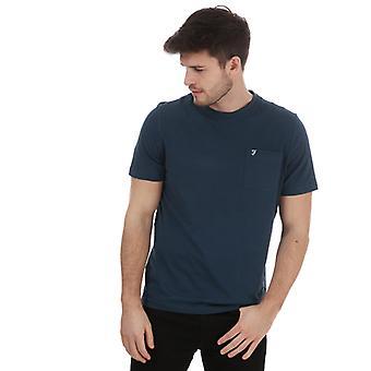 Men's Farah Edward Pocket T-Shirt in Green
