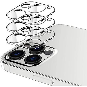 HanFei 3 Stck Kamera Schutzfolie Kompatible mit iPhone 12 Pro Max, 6.7 Zoll, 9H Hrte, Anti-Shedding,