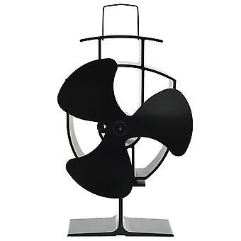 Stufa alimentata a caldo Ventilatore 3 lame nere
