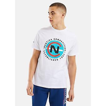 Nautica Lateen T-shirt - Hvid