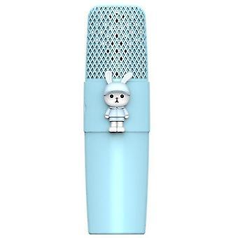 Bezdrôtový bluetooth mikrofón K9 360 stereofónnych mikrofónov reproduktor pre detský karaoke spievajúci mikrofón s magickým hlasom