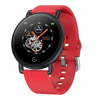 Smartwatch with IP68 Pedometer Heart Rate Monitor Sleep Compatible Android , iPhone-Red