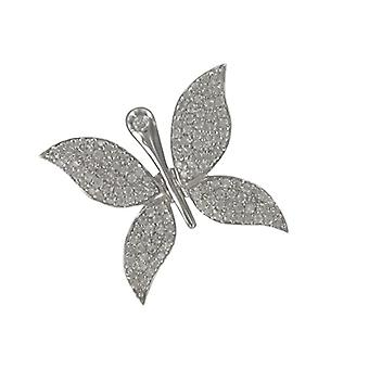 Pasionista-Pendant for Women in Sterling Silver 925, with Zirconia Plated Rhodium, White, 612089