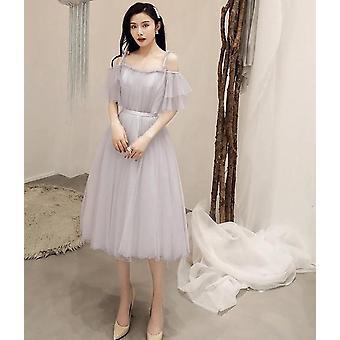 Κομψό κοντομάνικο φόρεμα πάρτι (σετ 3)
