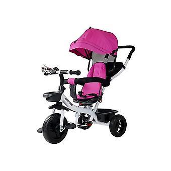 Driewieler kinderwagen multifunctioneel 300 – Roze