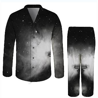 2Xl čierna 3d tlačená nočnej prádlo pre dospelých romper x2691