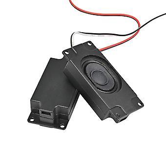 Altoparlanti portatili audio Aiyima 2pcs 3070 4ohm 3w Altoparlante per computer