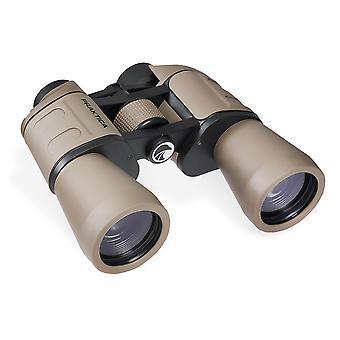 PRAKTICA Falcon WA 10x50mm Field Binoculars Sand - Porro Prism Coated Optics