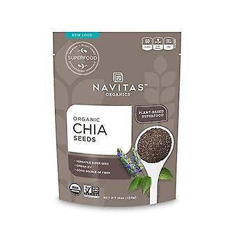 Navitas Naturals Organic Chia Seeds, 16 Oz