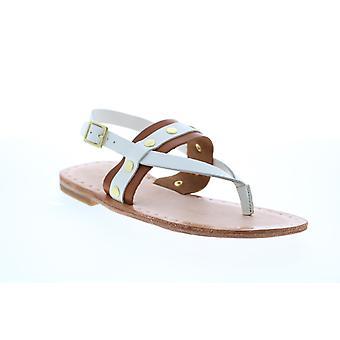 Frye Adult Womens Avery Stud Thong Slingback Sandals