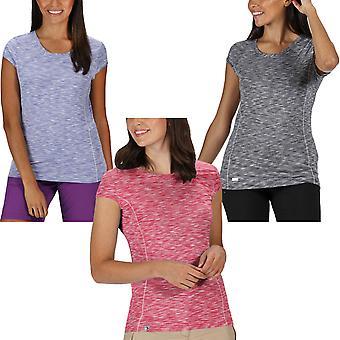 Regatta Womens Kimberly Walsh Hyperdimention Snabb torr T-Shirt Top Tee