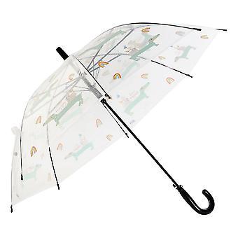 傘 DKD ホーム装飾透明ステンレススチール PoE セレステ