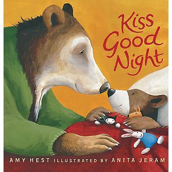 Kiss Good Night Vadderad brädbok av Amy Hest & Illustrerad av Anita Jeram