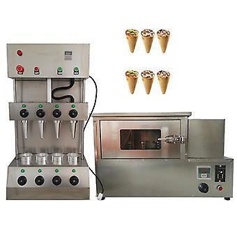 Máquina de horno de pizza, acero inoxidable, máquinas de cono comercial