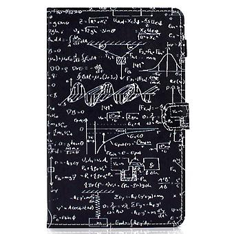 Case For Samsung Galaxy Tab A7 Cover With Auto Sleep/wake Pattern Magnetic - Equation