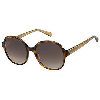 Tommy Hilfiger Round Sunglasses - Havana Brown