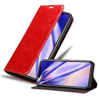 Case para iPhone 12 Pro Max Caixa de telefone dobrável - Capa - com função de suporte e bandeja de cartão