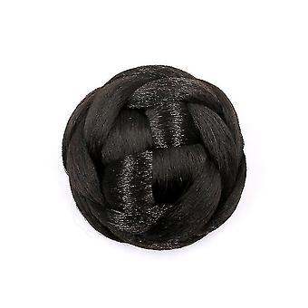 Synthetic Fake Hair Bun Chignons Hairpiece Bun Hair Tail Updo Afro Ponytail